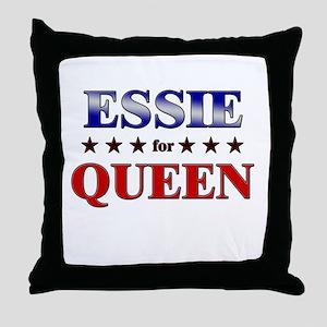 ESSIE for queen Throw Pillow