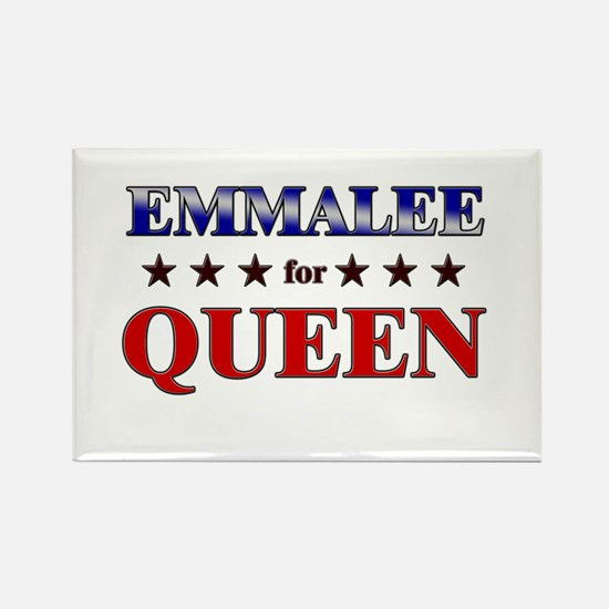 EMMALEE for queen Rectangle Magnet