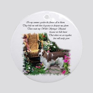 Welsh Springer Spaniel Ornament (Round)
