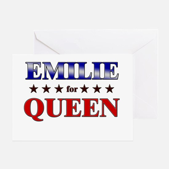 EMILIE for queen Greeting Card