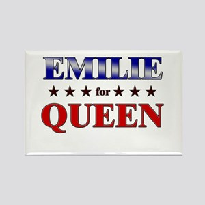 EMILIE for queen Rectangle Magnet