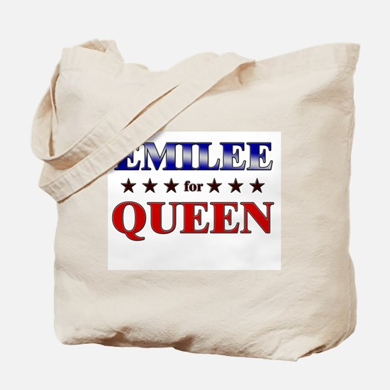 EMILEE for queen Tote Bag