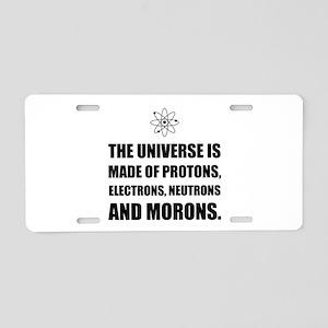 Protons Electrons Neutrons Morons Aluminum License