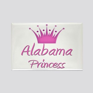 Alabama Princess Rectangle Magnet