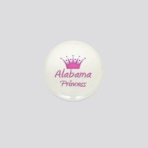 Alabama Princess Mini Button