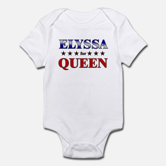 ELYSSA for queen Infant Bodysuit