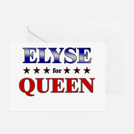 ELYSE for queen Greeting Card