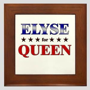 ELYSE for queen Framed Tile