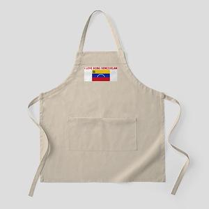I LOVE BEING VENEZUELAN BBQ Apron