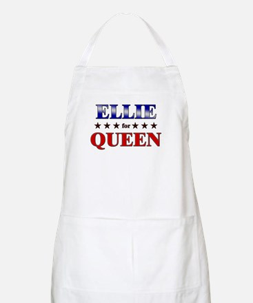ELLIE for queen BBQ Apron