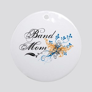 Band Mom Ornament (Round)