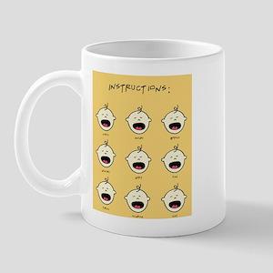 Baby Instructions Mug