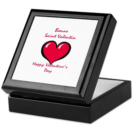 French Valentine Keepsake Box