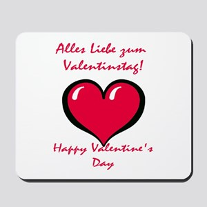 German Valentine Mousepad