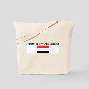 PROPERTY OF MY YEMENI GIRLFRI Tote Bag