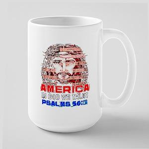 America First Jesus Donald Trump Mugs