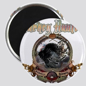 Turkey hunter Art Magnet
