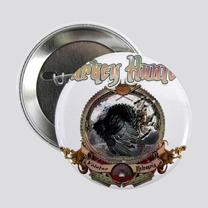 Turkey hunter Art Button