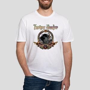 Turkey hunter Art Fitted T-Shirt