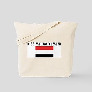 KISS ME IM YEMENI Tote Bag
