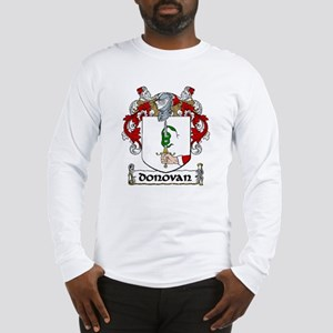 Donovan Coat of Arms Long Sleeve T-Shirt