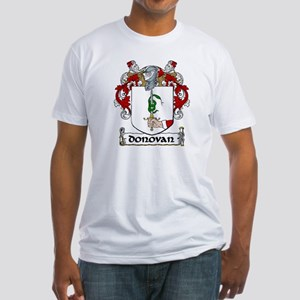 Donovan Coat of Arms Fitted T-Shirt
