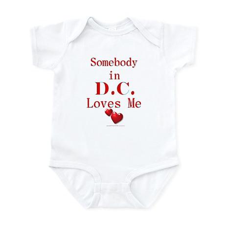 D.C. Infant Bodysuit