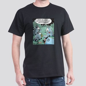 Raccoon Laser Eye Surgery Dark T-Shirt