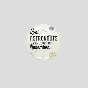 Astronauts are born in November C5l6j Mini Button