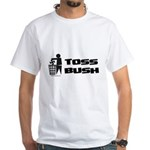 Toss Bush White T-Shirt
