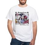 Stop Trashing White T-Shirt