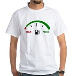 War and Peace White T-Shirt