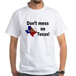 Texas White T-Shirt