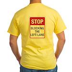 Stop Blocking Yellow T-Shirt