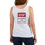 Stop Blocking Women's Tank Top