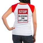 Stop Blocking Women's Cap Sleeve T-Shirt