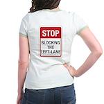 Stop Blocking Jr. Ringer T-Shirt