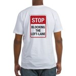 Stop Blocking Fitted T-Shirt