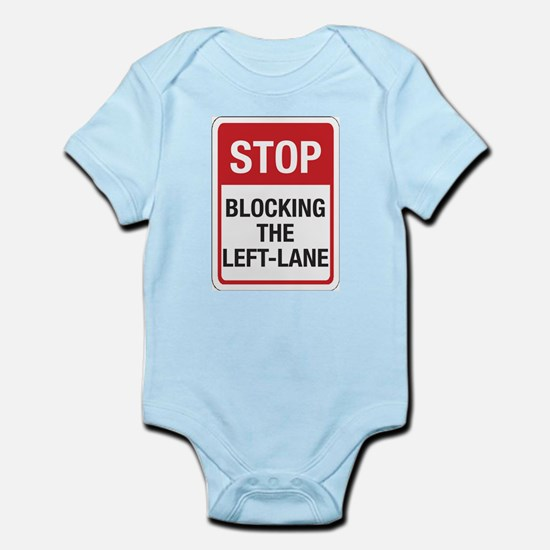Stop Blocking Infant Bodysuit