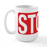 Stop Blocking Large Mug