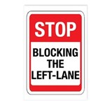 Stop Blocking Postcards (Package of 8)