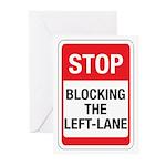 Stop Blocking Greeting Cards (Pk of 20)