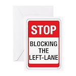 Stop Blocking Greeting Card