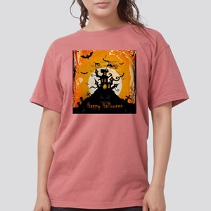 Castle On Halloween Night T-Shirt