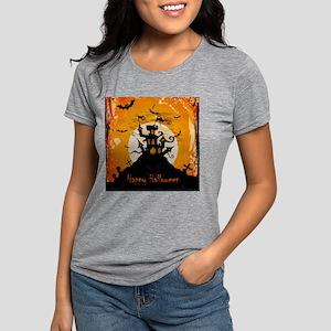 Castle On Halloween Night T-Shirt