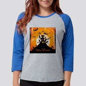 Castle On Halloween Night Long Sleeve T-Shirt