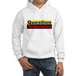 Question Television Hooded Sweatshirt