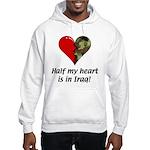 Half My Heart Hooded Sweatshirt