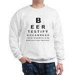 Beer Test Sweatshirt