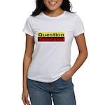 Question Television Women's T-Shirt